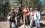 Hike in Ortiz Educational Preserve