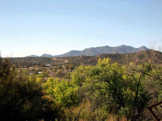 Cerrillos From a Different Angle