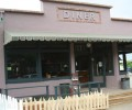 Maggie's Diner movie set from